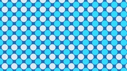 Blue Circle Pattern Illustrator