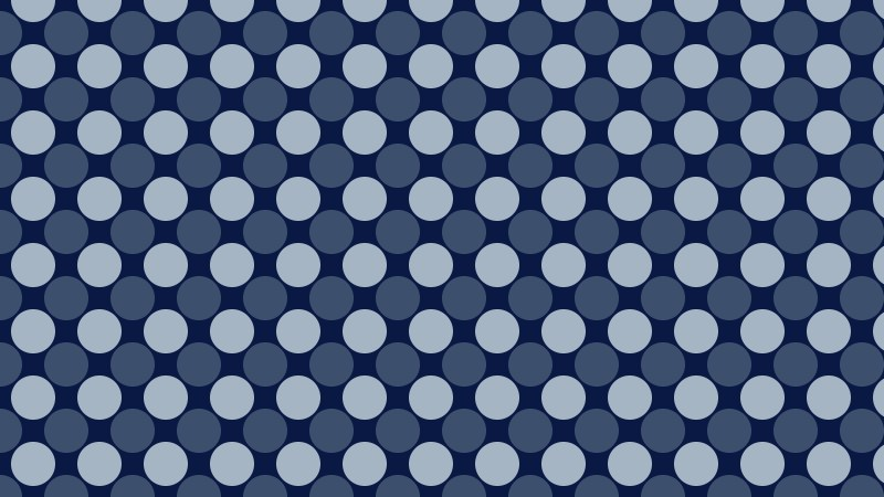 Dark Blue Circle Pattern Background Vector Illustration