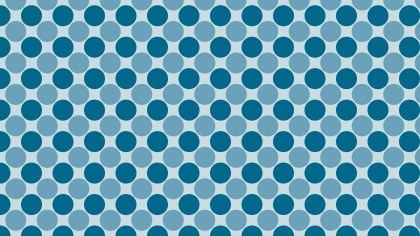 Blue Circle Background Pattern Vector