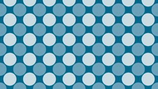 Blue Geometric Circle Pattern Vector Art