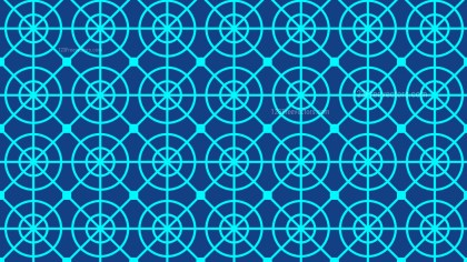 Blue Geometric Circle Pattern Background Graphic