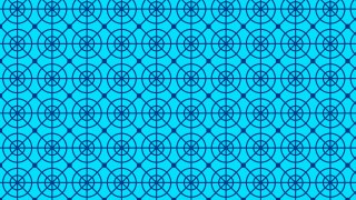 Blue Seamless Circle Pattern Background Image