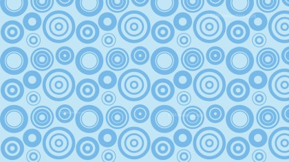 Light Blue Circle Pattern