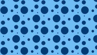 Blue Seamless Random Scattered Dots Pattern Graphic