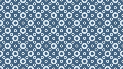 Blue Circle Pattern Background Illustration