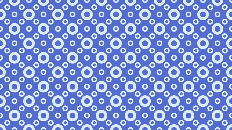 Cobalt Blue Circle Background Pattern Design