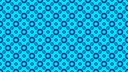 Blue Seamless Geometric Circle Pattern Background Graphic