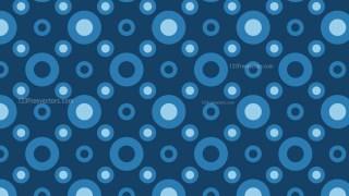 Dark Blue Circle Pattern