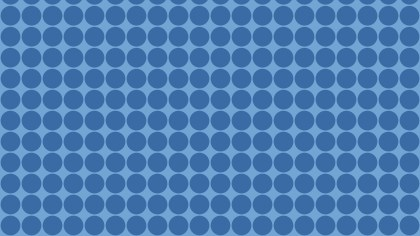 Blue Circle Background Pattern