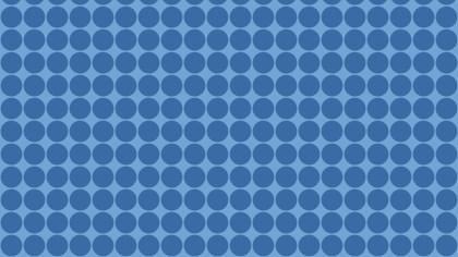 Blue Circle Background Pattern