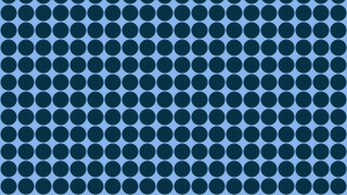 Dark Blue Geometric Circle Pattern