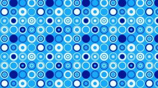 Blue Circle Background Pattern Illustrator