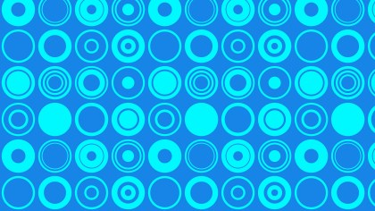 Blue Geometric Circle Pattern Background Vector