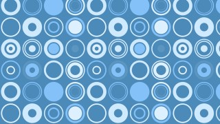 Blue Geometric Circle Background Pattern Vector Art