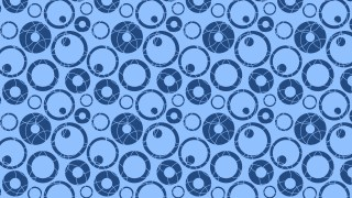 Blue Seamless Geometric Circle Background Pattern Vector Image