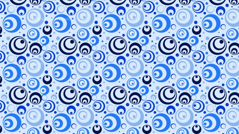 Light Blue Circle Pattern Background Vector Art