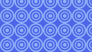 Cobalt Blue Concentric Circles Background Pattern