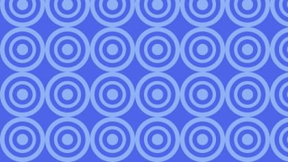 Cobalt Blue Concentric Circles Background Pattern