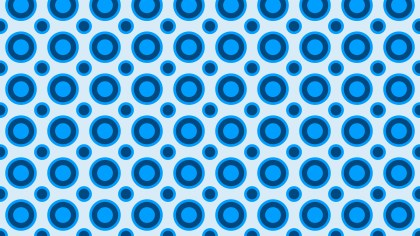 Blue Geometric Circle Pattern Background Design