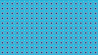Blue Seamless Circle Pattern Background Vector Image