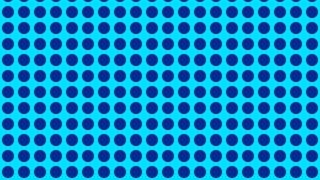 Blue Seamless Geometric Circle Pattern Vector Illustration
