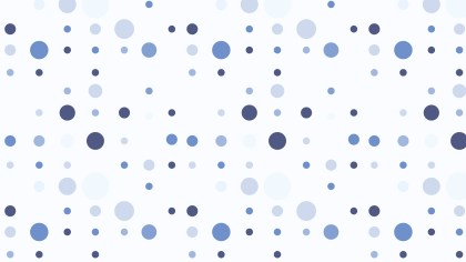 Light Blue Seamless Random Dots pattern