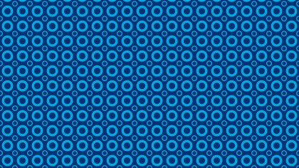 Dark Blue Circle Pattern Design