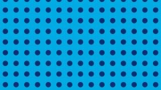 Blue Geometric Circle Background Pattern Vector Illustration