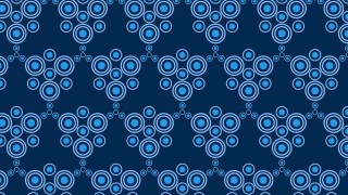Navy Blue Circle Pattern Background
