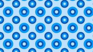 Blue Geometric Circle Background Pattern