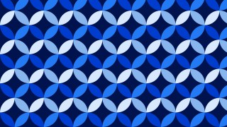 Navy Blue Overlapping Circles Background Pattern