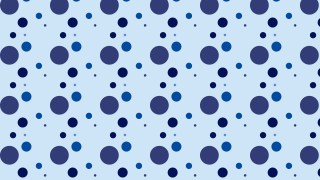 Blue Random Circles Dots Background Pattern Vector Image