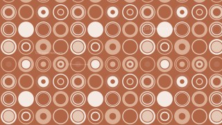 Brown Geometric Circle Pattern Background Graphic