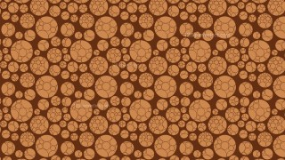 Brown Circle Background Pattern
