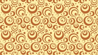 Brown Geometric Circle Background Pattern