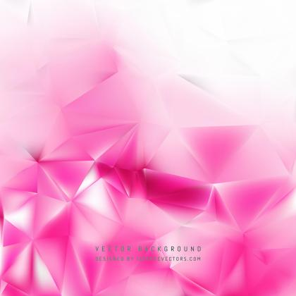 Light Pink Geometric Polygon Background