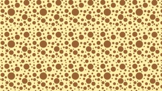 Brown Random Scattered Dots Pattern Illustration