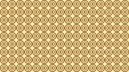 Brown Seamless Concentric Circles Background Pattern