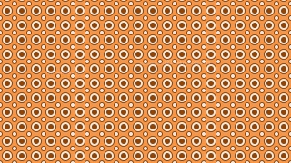 Brown Seamless Geometric Circle Background Pattern