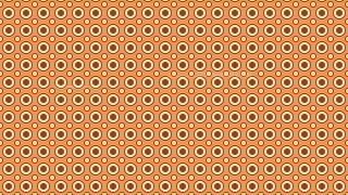 Brown Seamless Geometric Circle Background Pattern