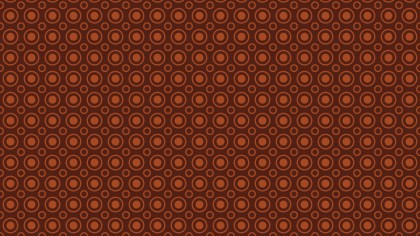 Dark Brown Circle Pattern Graphic