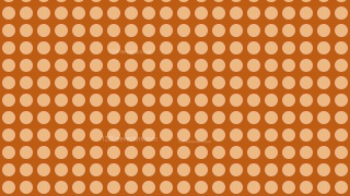 Brown Circle Background Pattern Design