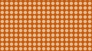 Brown Circle Background Pattern Design