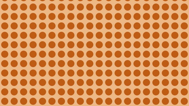 Brown Geometric Circle Pattern Image