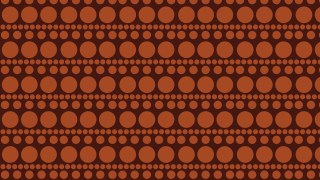 Brown Geometric Circle Pattern Background