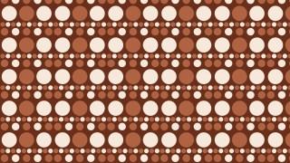 Brown Seamless Circle Pattern