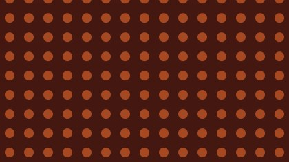 Dark Brown Seamless Geometric Circle Background Pattern