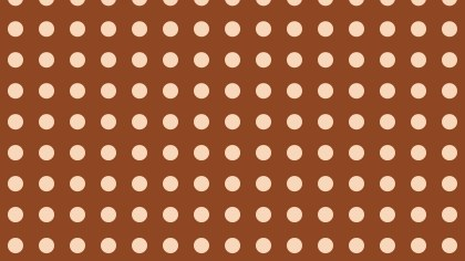 Brown Circle Pattern Vector Graphic