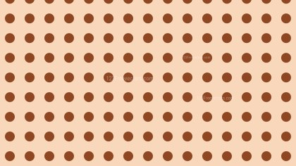 Brown Circle Pattern Background Vector Image