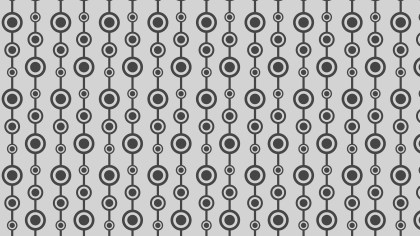 Grey Seamless Circle Background Pattern Design